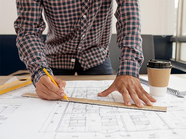 Blueprint Of New Building Mankato Mn