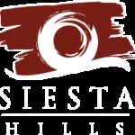 Siesta Hills Logo White