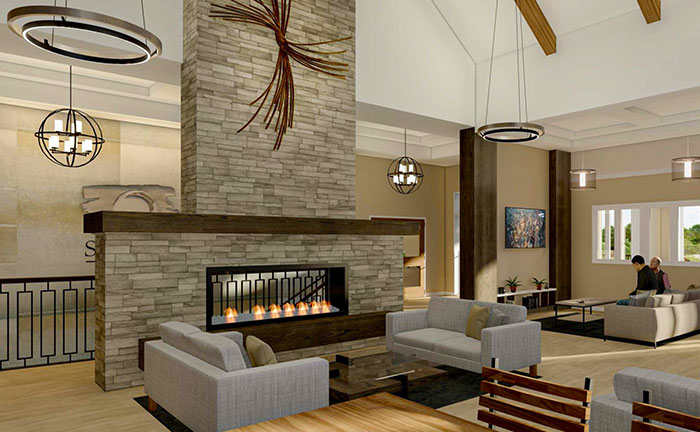 Multi Outdoor Indoor Lounge