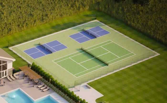 Tennis Pickleball Court