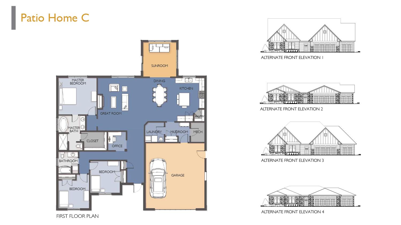 Siesta Hills Patio C Floor Plan