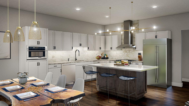 Siesta Hills Quadplex Kitchen