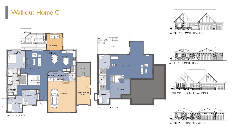 Siesta Hills Walkout C Floor Plan