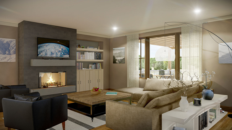 Siesta Hills Walkout C Living Room