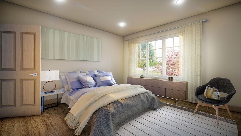Siesta Hills Walkout D Bedroom