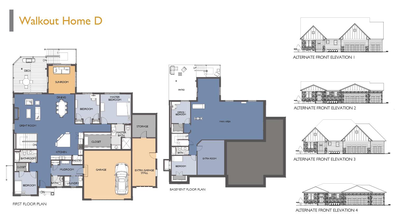 Siesta Hills Walkout D Floor Plan
