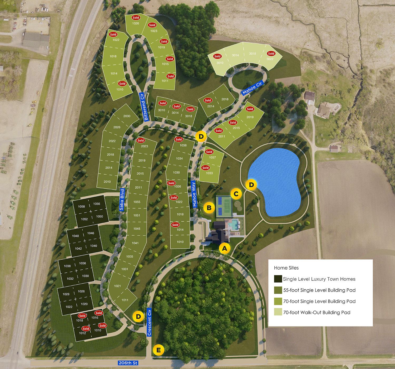 Siesta Hills Development Map 2021.09.08